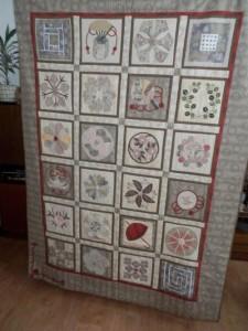 deka z výstavy Hana Hrušková