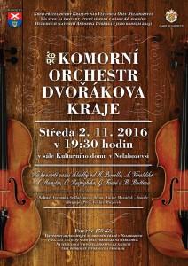 Komorní orchestr Dvořákova kraje @ Kulturní dům Nelahozeves   Nelahozeves   Česká republika