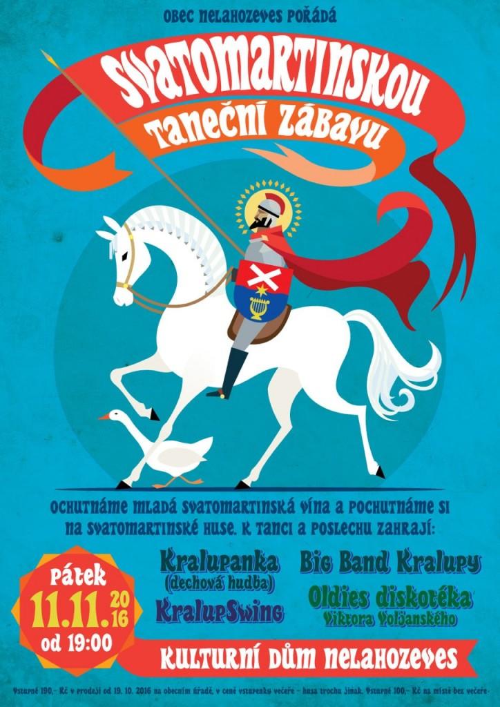 Svatomartinská taneční zábava @ Kulturní dům v Nelahozevsi   Nelahozeves   Středočeský kraj   Česká republika