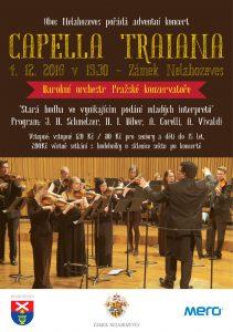 Adventní koncert Capella Traiana @ Rytířský sál, zámek Nelahozeves