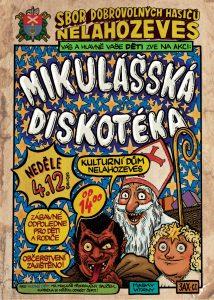 Mikulášská diskotéka @ Kulturní dům v Nelahozevsi