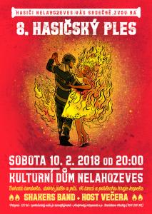 Ples - hasiči