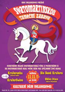 Svatomartinská taneční zábava @ Kulturní dům Nelahozeves | Nelahozeves | Středočeský kraj | Česko