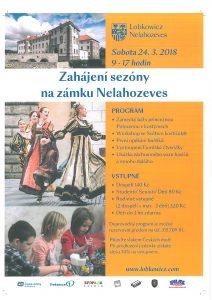 Zahájení sezóny na zámku Nelahozeves @ zámek Nelahozeves | Nelahozeves | Středočeský kraj | Česko