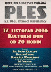 PLES KE 100. VÝROČÍ REPUBLIKY @ KD Nelahozeves | Nelahozeves | Středočeský kraj | Česko