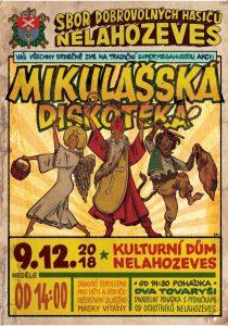 Mikulášská diskotéka @ Kulturní dům Nelahozeves | Nelahozeves | Středočeský kraj | Česko