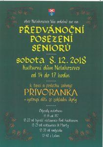 Předvánoční posezení seniorů @ Kulturní dům Nelahozeves  | Nelahozeves | Středočeský kraj | Česko