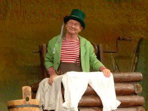 Čochtan vypravuje v divadle Gong @ Praha