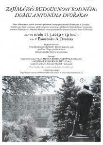 Koncert v domě A. Dvořáka @ Nelahozeves