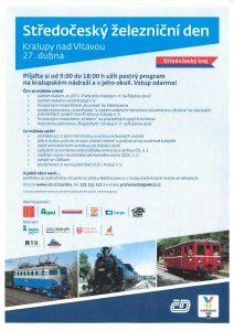 Středočeský železniční den @ Kralupy nad Vltavou