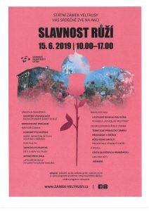 15. 6. 2019 – SLAVNOST RŮŽÍ na Zámku Veltrusy @ Zámek Veltrusy