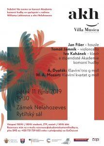 Koncert Akademie komorní hudby ve spolupráci s rodinou Williama Lobkowicze a obcí Nelahozeves