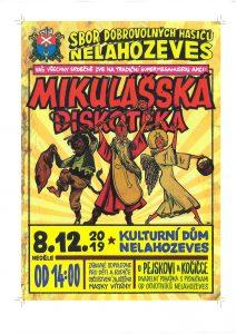 Mikulášská diskotéka @ Kulturní dům Nelahozeves