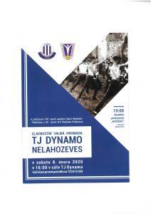 Slavnostní valná hromada TJ Dynamo Nelahozeves @ sál TJ Dynamo