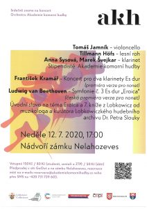 Koncert Orchestru Akademie komorní hudby @ Zámek Nelahozeves